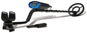 Bounty Hunter QSIGWP Quick Silver Metal Detector with Pin Pointer